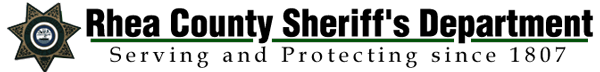 Rhea County Sheriff's Dept. Retina Logo
